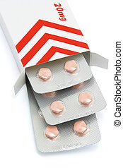 Anti cardiovascular disease medication in blister pack