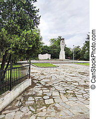 Anti-fascist monument in village of Tsalapitsa, Bulgaria - ...