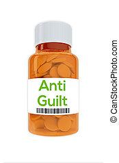 Anti Guilt concept