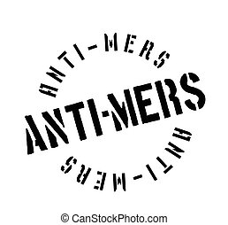 Anti-Mers rubber stamp