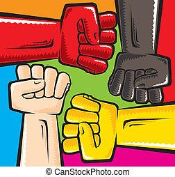 anti, racismo
