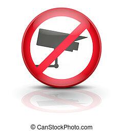 Anti spyware icon symbol vector illustration - Surveillance...