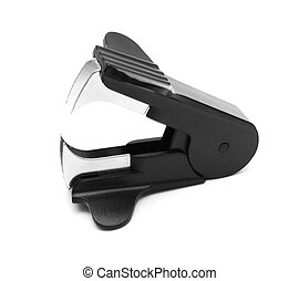 Anti-stapler. On a white background.