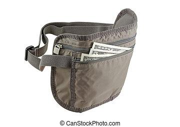 Anti-theft Travel pouch, waist bag