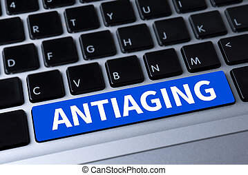 ANTIAGING a message on keyboard