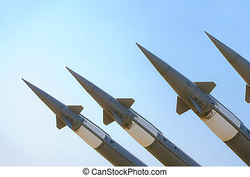 antiaircraft missiles