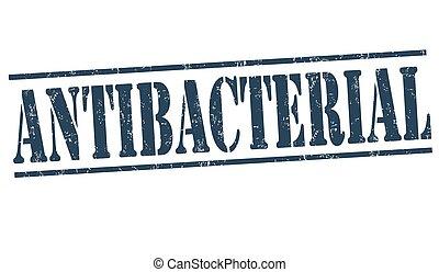 Antibacterial sign or stamp