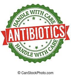 antibiotics, bánik törődik, grunge, gumi bélyegző