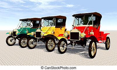 anticaglia, automobili