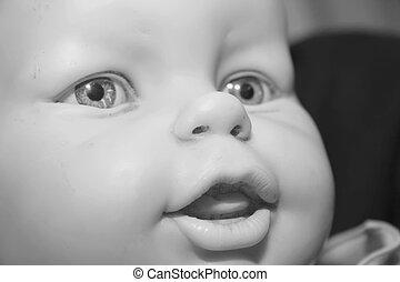 anticaglia, bambola