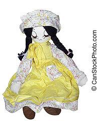 anticaglia, bambola pezza