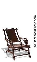 anticaglia, cinese, luna, indicatore, chair.