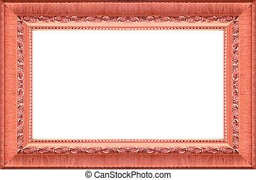 anticaglia, cornice legno, immagine