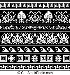 anticaglia, greco, profili di fodera, set