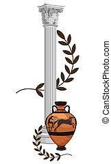 anticaglia, greco, simboli