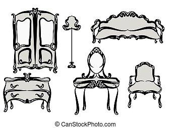 anticaglia, mobilia
