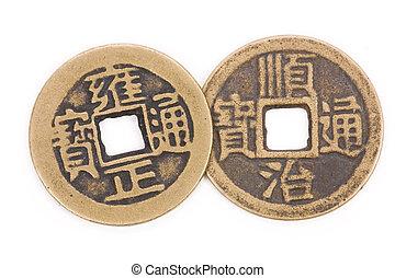 anticaglia, monete, cinese