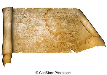 anticaglia, parchment.