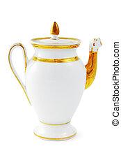 anticaglia, pot caffè, da, 19 secolo, (biedermeier, time)