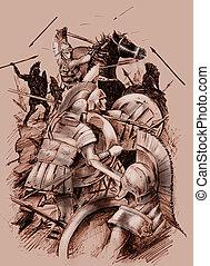 antico, battaglia
