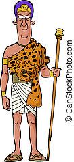 antico, prete, egiziano