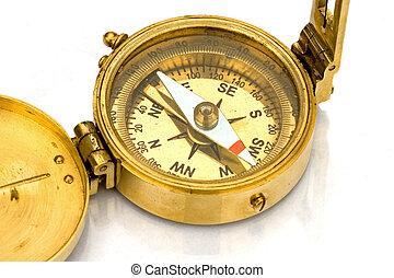 antiek kompas
