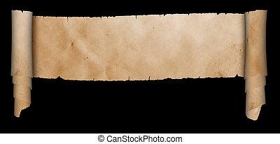antieke , achtergrond., black , perkament