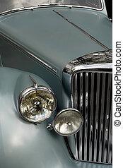 antieke auto, grill, 2