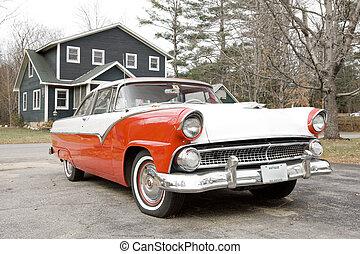 antieke auto, new hampshire, usa