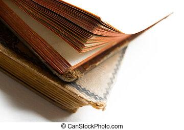 antieke , boekjes , oud, twee