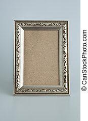 antieke , frame, zilver