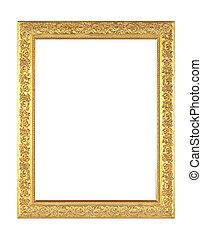 antieke , goud, frame