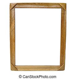 antieke , houten kader