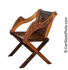 antieke , houten stoel