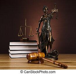 antieke , justitie, standbeeld