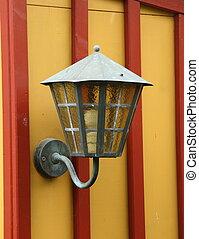 antieke , lamp