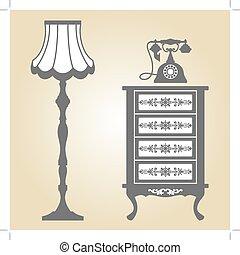 antieke , meubel