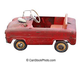 antieke , pedaal auto