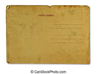 antieke , post, kaart