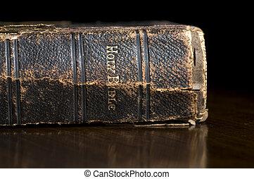 antieke , ruggegraat, bijbel, heilig