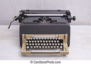 antieke schrijfmachine