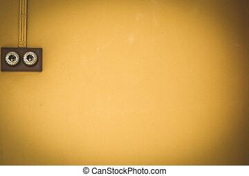 antieke , switch, verlichting