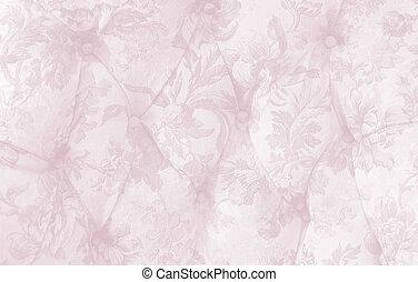 antieke , upholstery, roze, tint