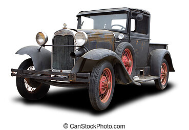 antieke , vrachtwagen