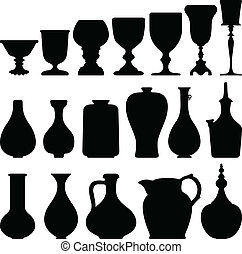 antieke , wijn glas, keuken, ouderwetse
