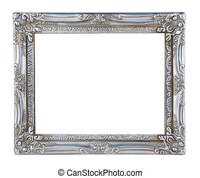 antieke , zilver, frame