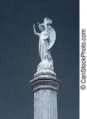 antigüedad, cementerio, ángel