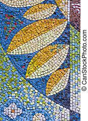 antigüedad, cicatrizarse, mosaico