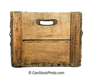 antigüedad, de madera, cerveza, caso