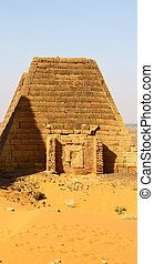 antigüedad, faraones, negro, pirámides